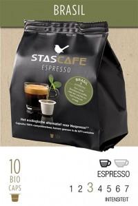 Brasil stascafe - 10 koffiecups voor Nespresso®